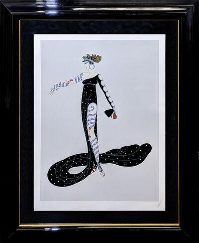Erté (Romain de Tirtoff), 'LA MERVEILLEUSE', 1980