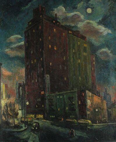 Frederick Buchholz, 'Manhattan Moonlight', 1938