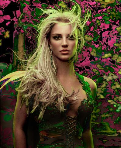 Markus Klinko, 'Britney Spears Garden'