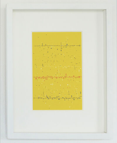 Marco Maggi, 'Verbos Irregulares (Yellow)', 2017
