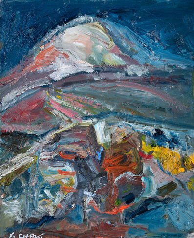 Yehouda Chaki, 'Dark Mountain 1914-w', 2019