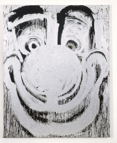Joyce Pensato, 'Silver Clown', 2011