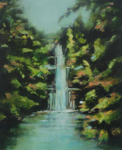 Annette Pugh, 'Waterfall Roundhay (Soft Light)', 2019