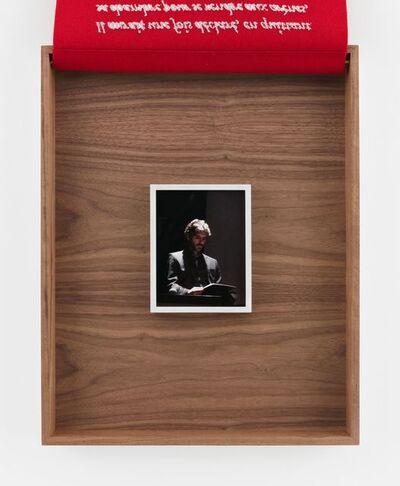 Sophie Calle, 'Jose Tomas', 2018