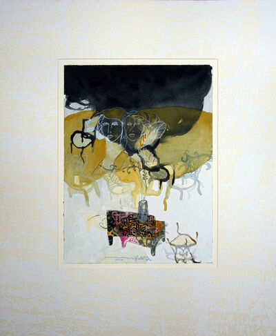 Jehad Al Ameri, 'Faded Yellow 1', 2020
