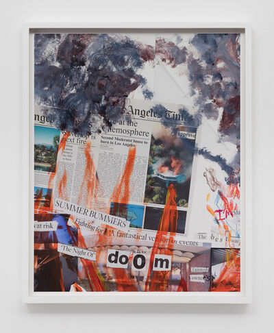Catherine Opie, 'Mural Study #2 (The Modernist)', 2016