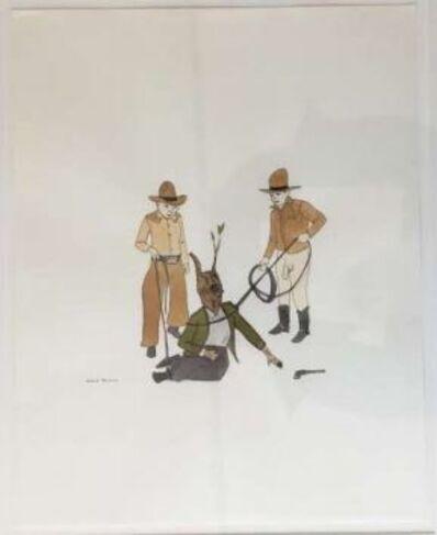 Marcel Dzama, 'Untitled (Treeman)', 2003
