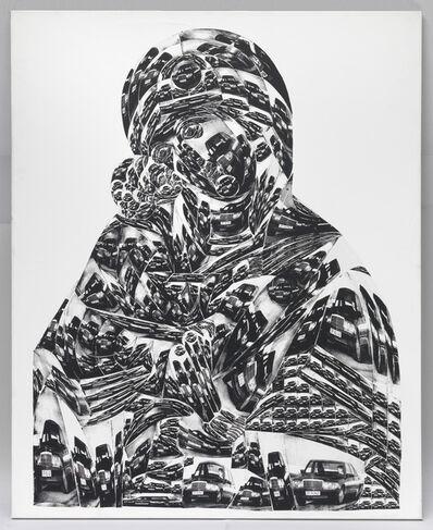 Thomas Bayrle, 'Madonna Mercedes', 1988