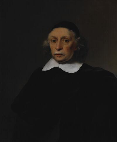 Ferdinand Bol, 'Portrait of a Scholar', 1659