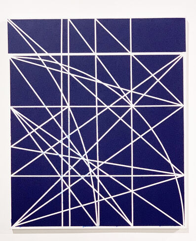 Clifford Singer, 'Untitled, Study for Blue Progression', 1979