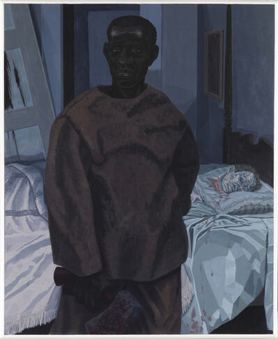 Kerry James Marshall, 'Portrait of Nat Turner with the Head of his Master', 2011