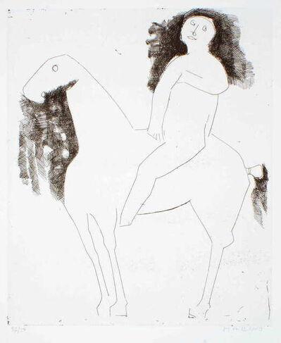 Marino Marini, 'Le Chevalier - The Knight', 1959
