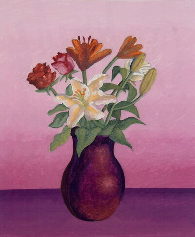 Salvo, 'Vaso di fiori', 2005