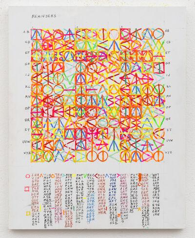 Leslie Roberts, 'REMINDERS', 2015