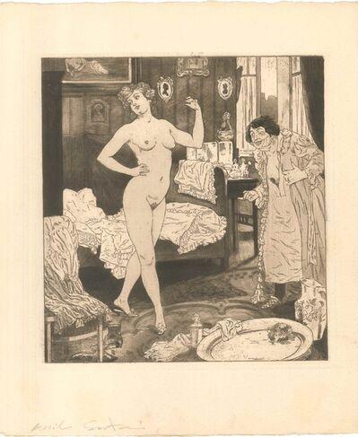 Emil Sartori, 'Erotic Scene VI - Illustration', 1907