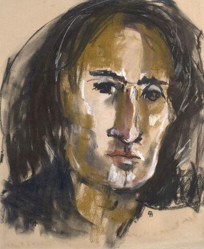 Eva Aldbrook, 'Portrait of Arnold Wesker', ca. 1950