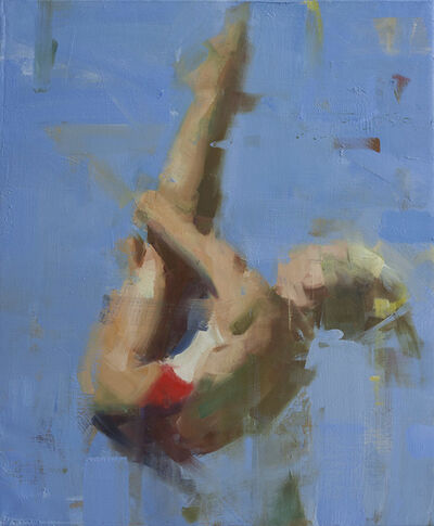 David Shevlino, 'Blonde Diver', 2013