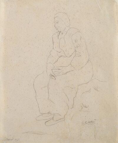 Carlo Carrà, 'Untitled', 1928