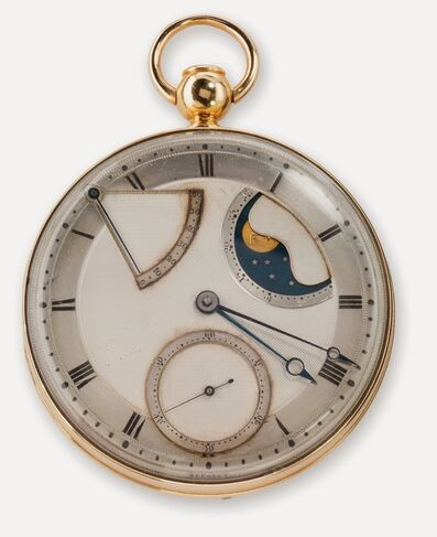 Abraham-Louis Breguet, 'Automatic (perpétuelle) quarter repeating watch with dumb (à toc) repeater', 1794
