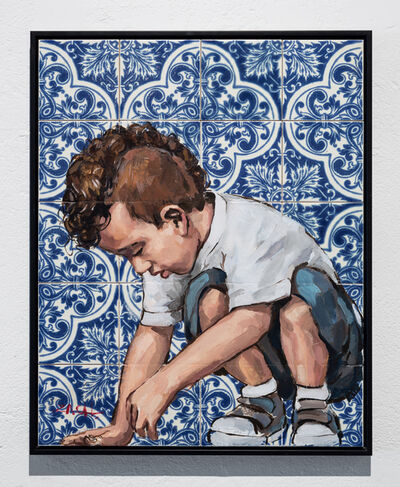 Ernest Zacharevic, 'Floor is Tiles Series - Untitled #2', 2015