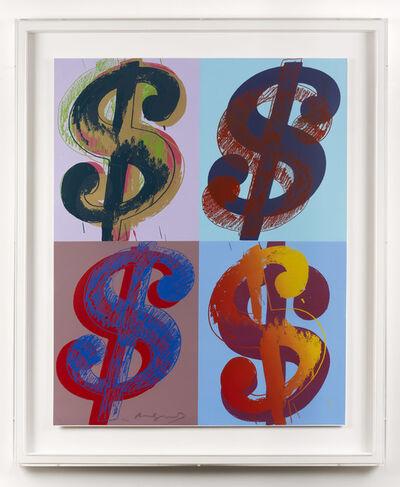 Andy Warhol, '$ (Quadrant)', 1982