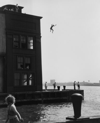 Ruth Orkin, 'Boy Jumping into the Hudson River, NYC'