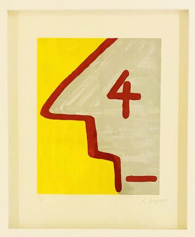 Rubens Gerchman, '4', 1970-1980
