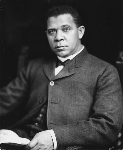 Pach Bros., 'Portrait of Booker T. Washington'