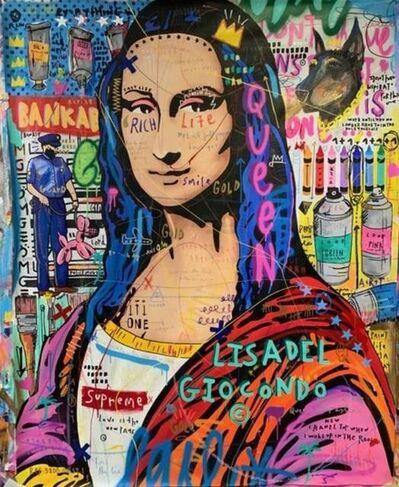 Jisbar, 'Painting Mona', 2019