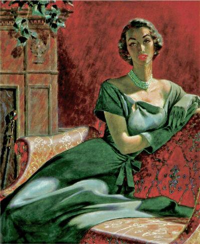 Edwin Georgi, 'Portrait of a Woman', ca. 1950's