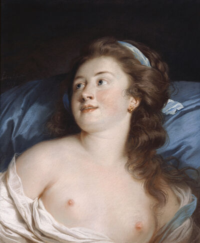 Adélaïde Labille-Guiard, 'Head of a Young Woman', 1779
