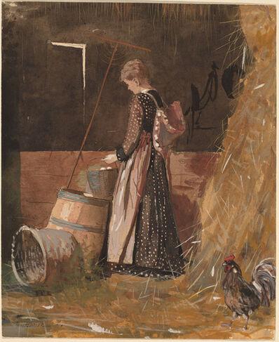 Winslow Homer, 'Fresh Eggs', 1874