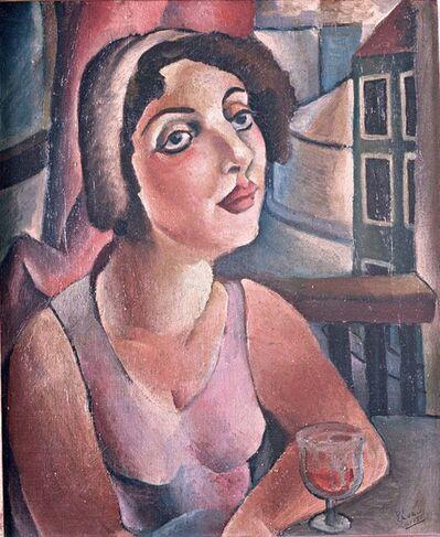 Emiliano Di Cavalcanti, 'Mesa de bar', 1929