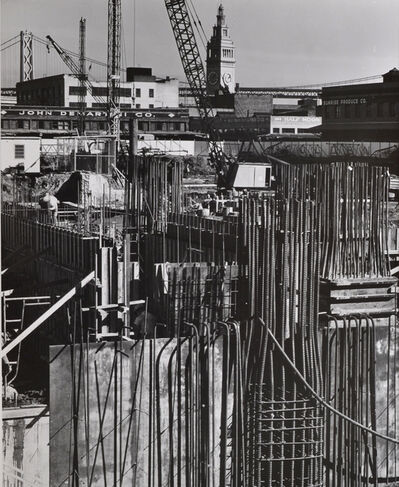 Pirkle Jones, 'Untitled (Construction site)', nd