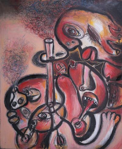 Szilard Szilagyi, 'Forward with a Stream', 2009