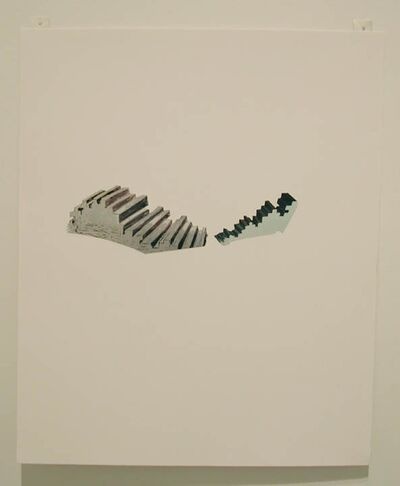Jedediah Caesar, 'Untitled (stairs)', 2002