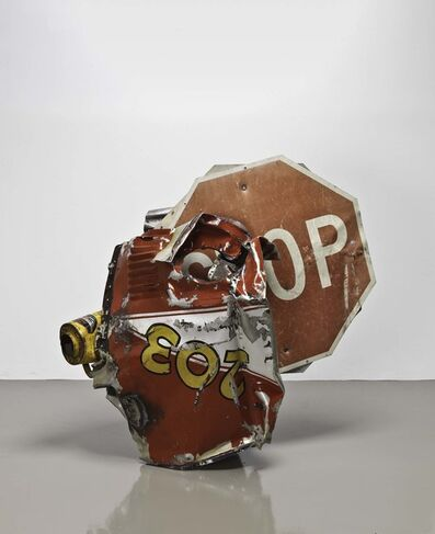Robert Rauschenberg, 'Stop Side Early Winter Glut', 1987