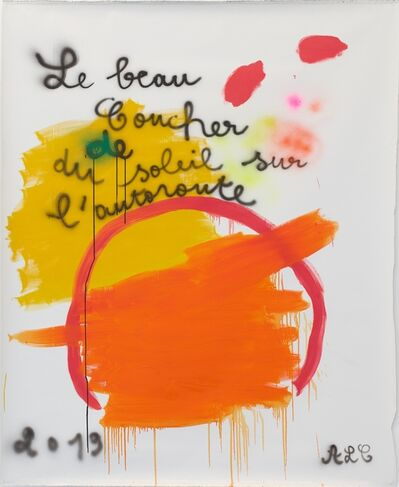 Anne-Lise Coste, 'Le beau coucher', 2019