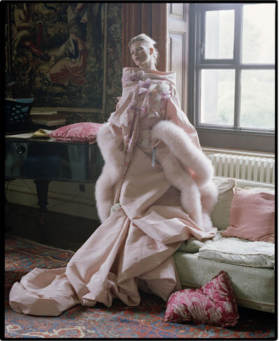 Tim Walker, 'Kate Moss, Fashion: Christian Dior Haute Couture. The tapestry room, Houghton Hall, 2012', 2012