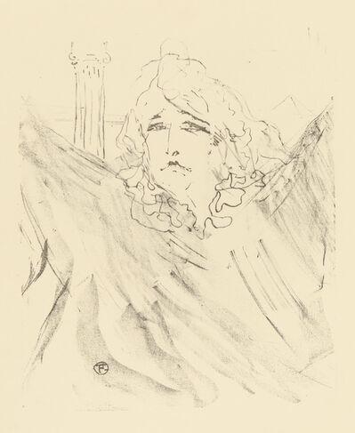 Henri de Toulouse-Lautrec, 'SARAH BERNHARDT', 1898