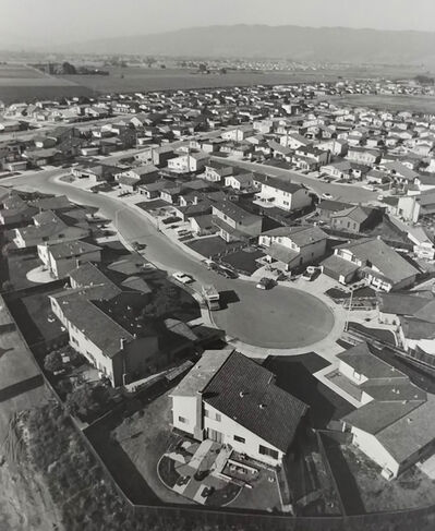 Bill Owens, 'Untitled (Overview of cul-de-sac)', 1971