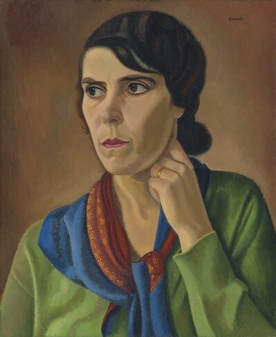 William Roberts, 'Portrait of May Berry', 1933