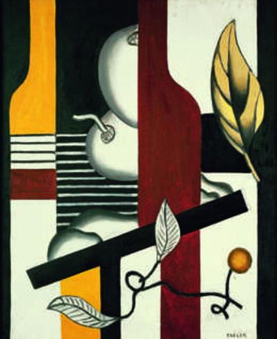 Fernand Léger, 'Feuilles et fruits (Leaves and Fruit)', 1927