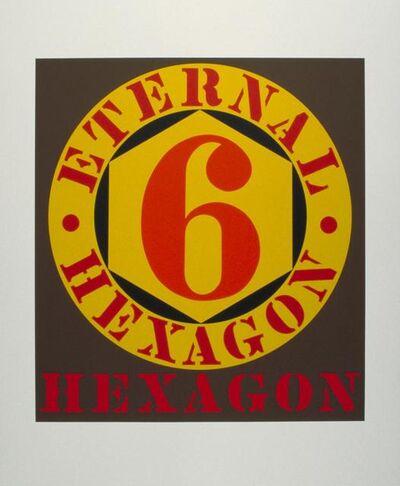 Robert Indiana, 'Eternal Hexagon', 1964