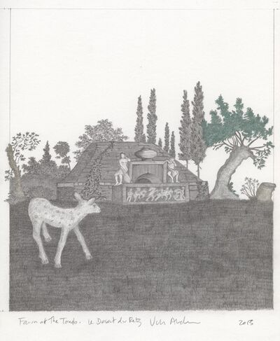 Vikky Alexander, 'Fawn at the Tomb', 2013