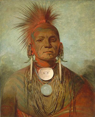 George Catlin, 'See-non-ty-a, an Iowa Medicine Man', 1844/1845