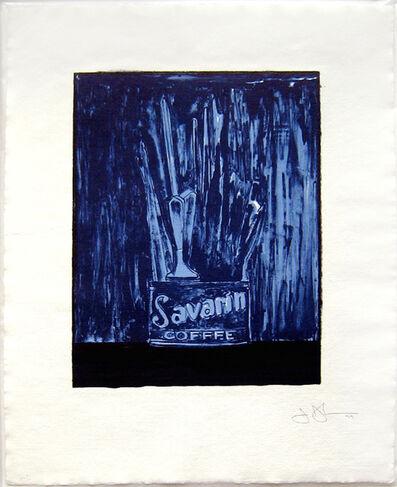 Jasper Johns, 'Savarin (Blue) (ULAE 198)', 1979