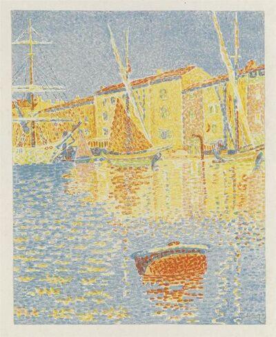 Paul Signac, 'La Bouee (Saint-Tropez: Le Port)', 1894