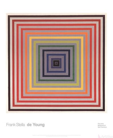 Frank Stella, 'Letter on the Blind II', 2014