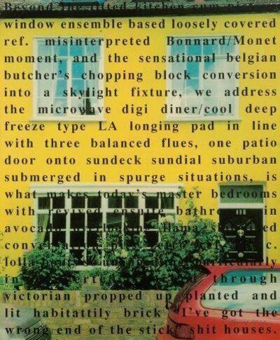 Bruce McLean, 'An Ideal Home', 1999